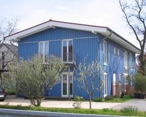 Zwei-Familienwohnhaus in Holzbauweise, Mainz